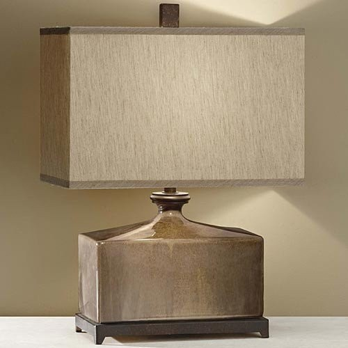 Murray Feiss 10088CGZ/ORB Table Lamp