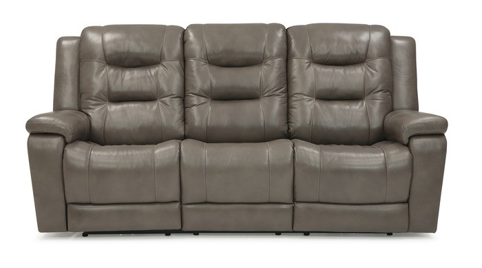 Leighton Power Wallhugger Sofa w/Power Headrest