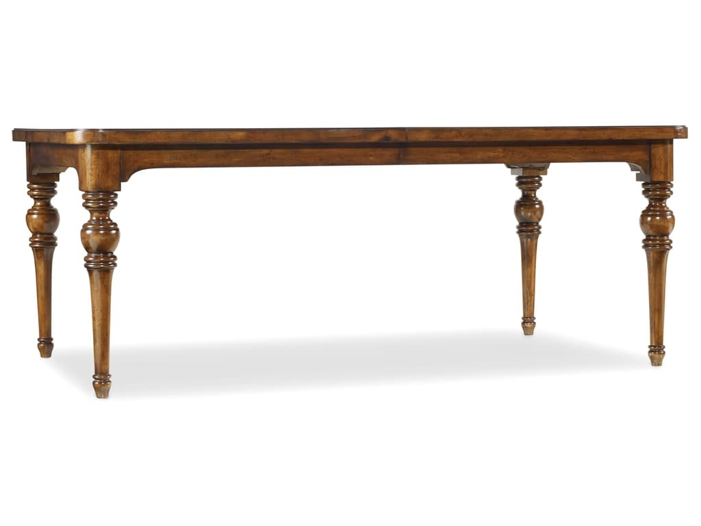 """Tynecastle Dining Table With Two 18"""" Leaves"""