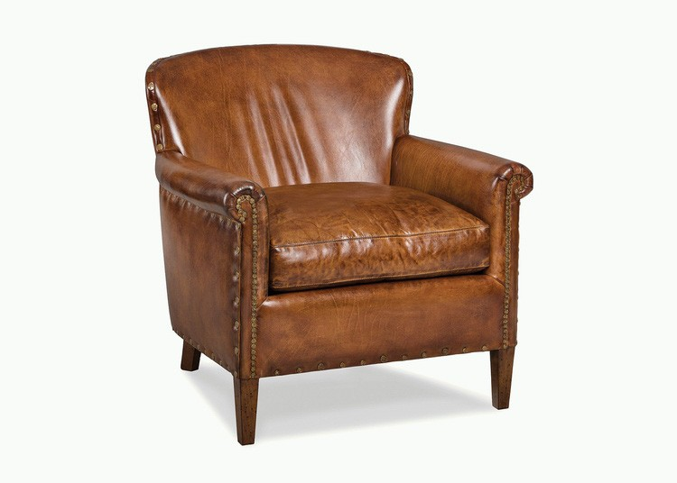 5852-1 Leather Traveler's Chair