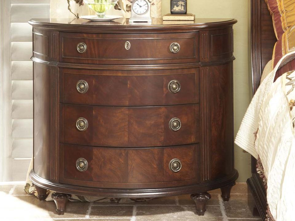 Antebellum Demilune Chest