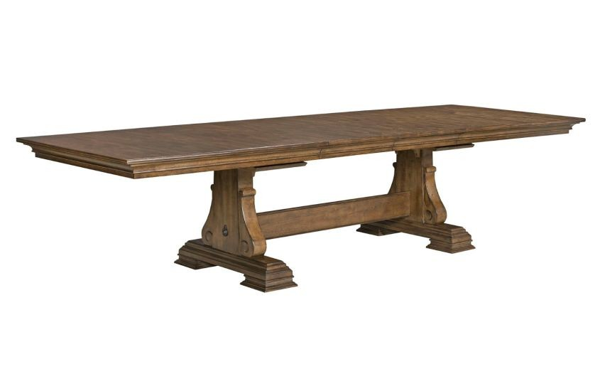 Portolone Caruso Trestle Dining Table