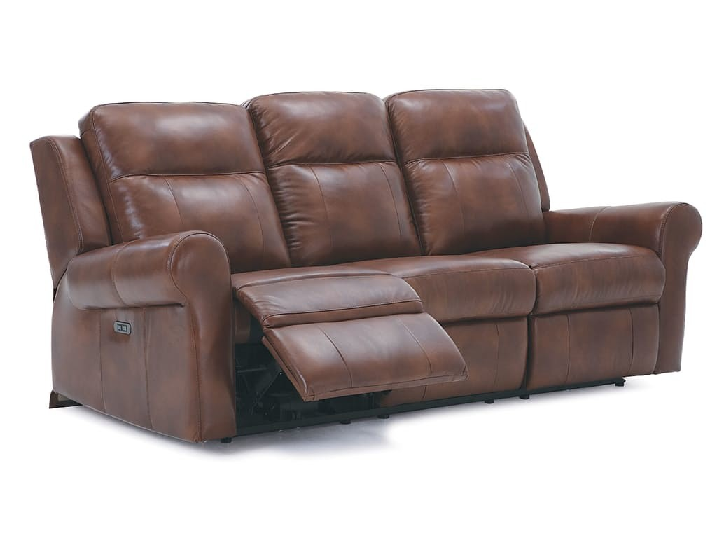 Vega Power Reclining Sofa W/Power Headrest