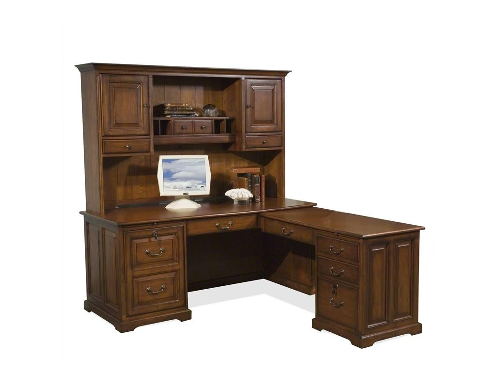 Riverside Home Office Workstation Storage Hutch