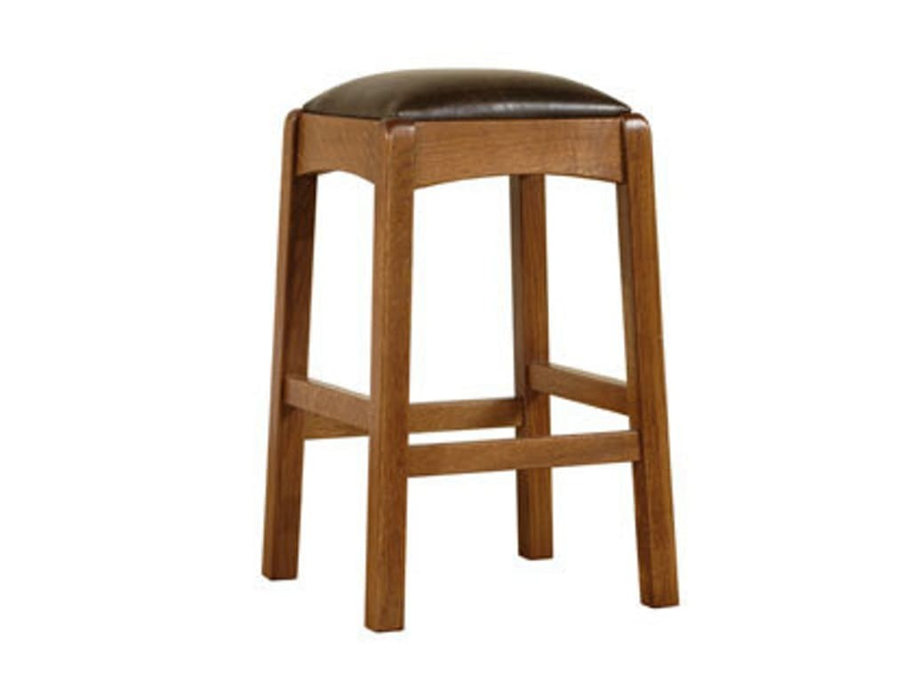 Stickley Bar and Game Room Backless Bar Stool
