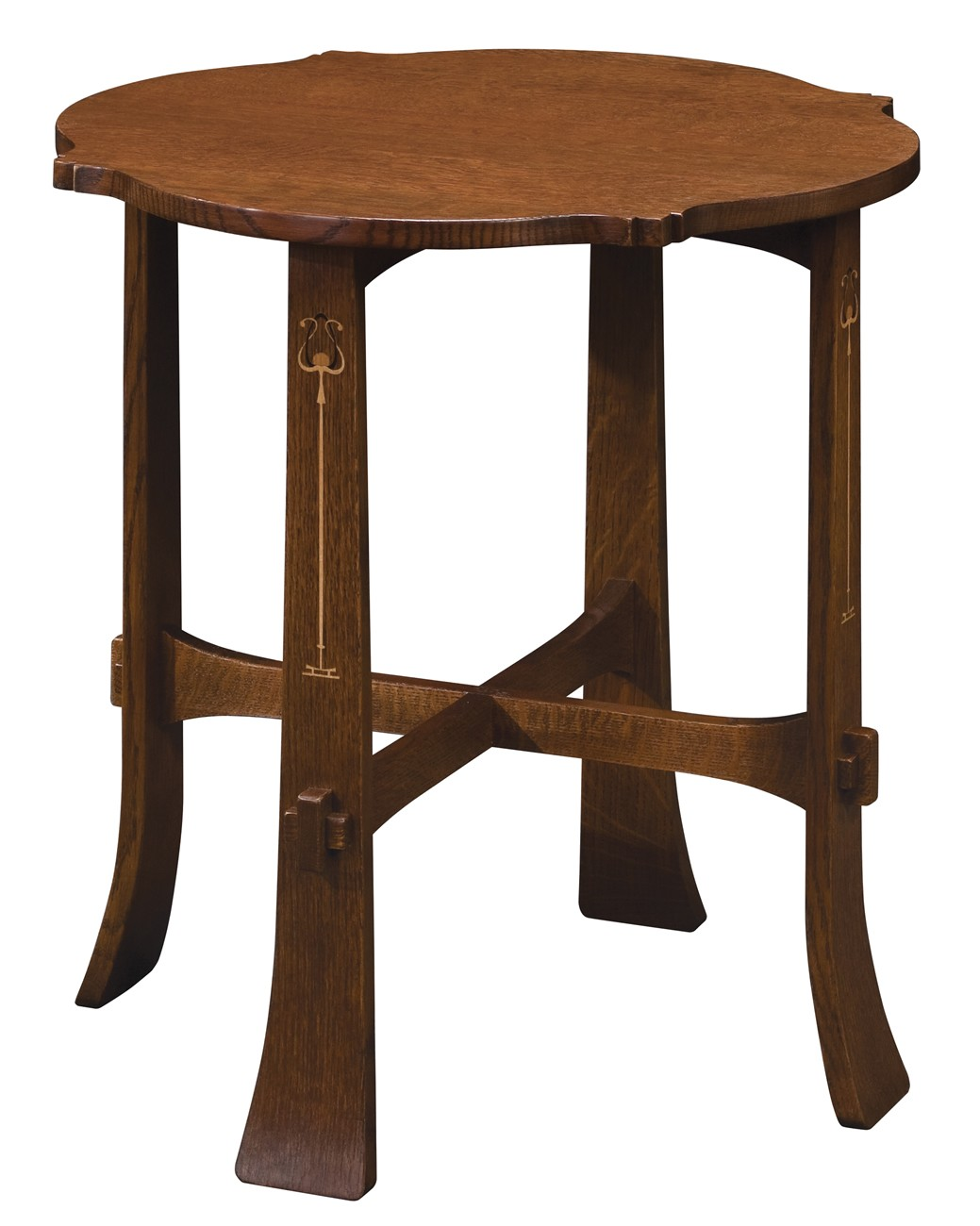 Harvey Ellis Tea Table Centennial Oak
