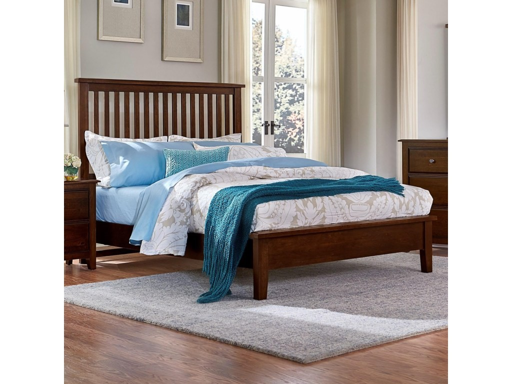 Artisan Choices Queen Slat Bed