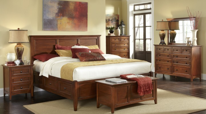 Westlake Storage Bed