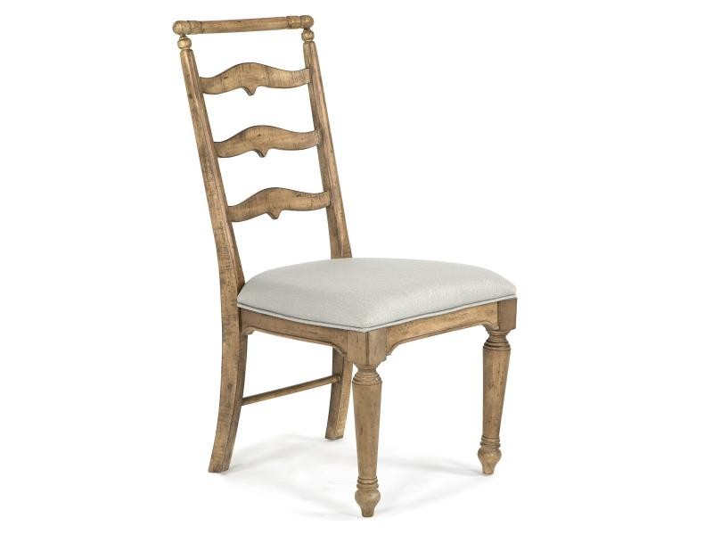Graham Hills Dining Side Chair with Upholstered Seat