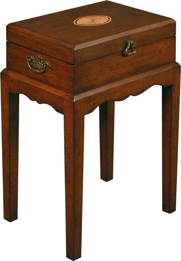 End Table with Hinged Top