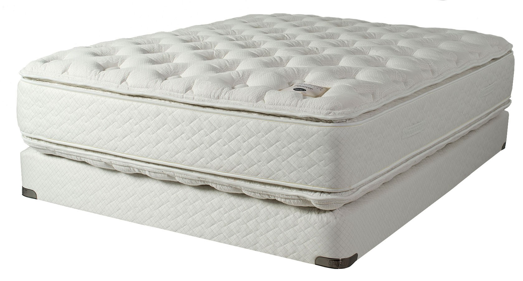 Shifman Hanover Plush PT Mattress Set