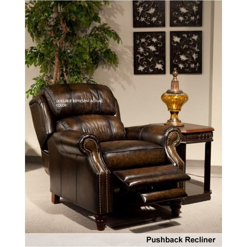 Parker House Furniture Twain - Smoke Wipe Recliner Pushback