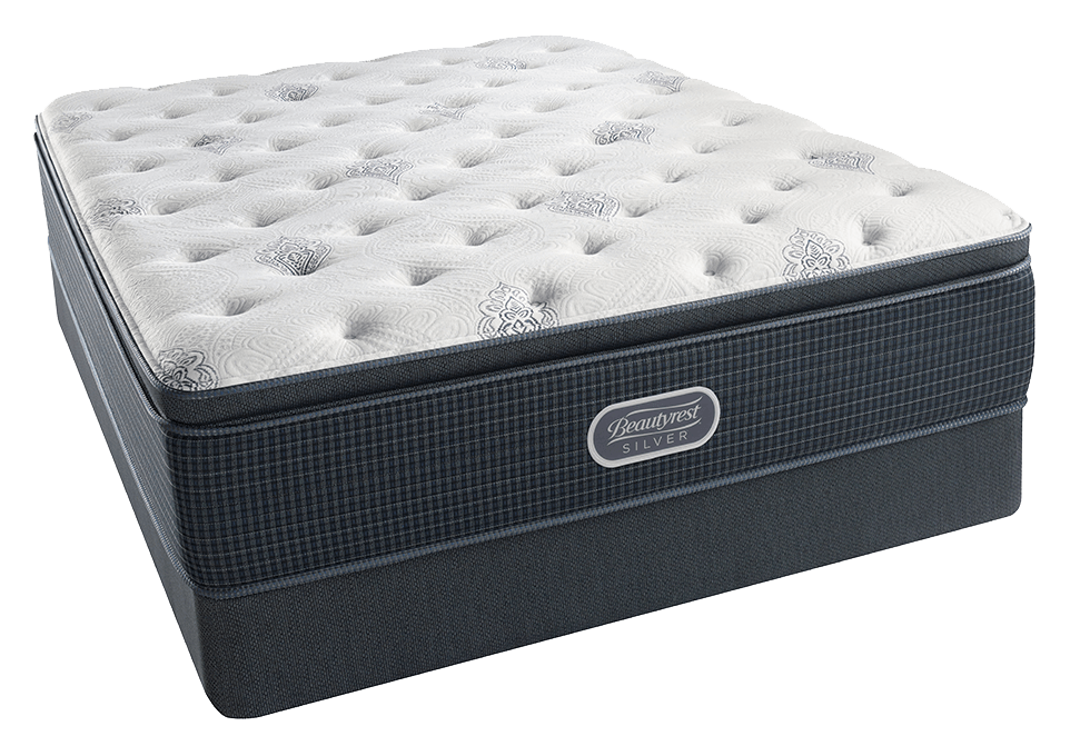 Beautyrest Offshore Mist Plush Pillowtop Mattress Set