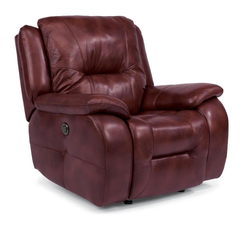 Zachary Leather Power Recliner