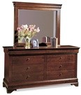 Durham 1004-172-BLKS Lorraine Collection Double Dresser