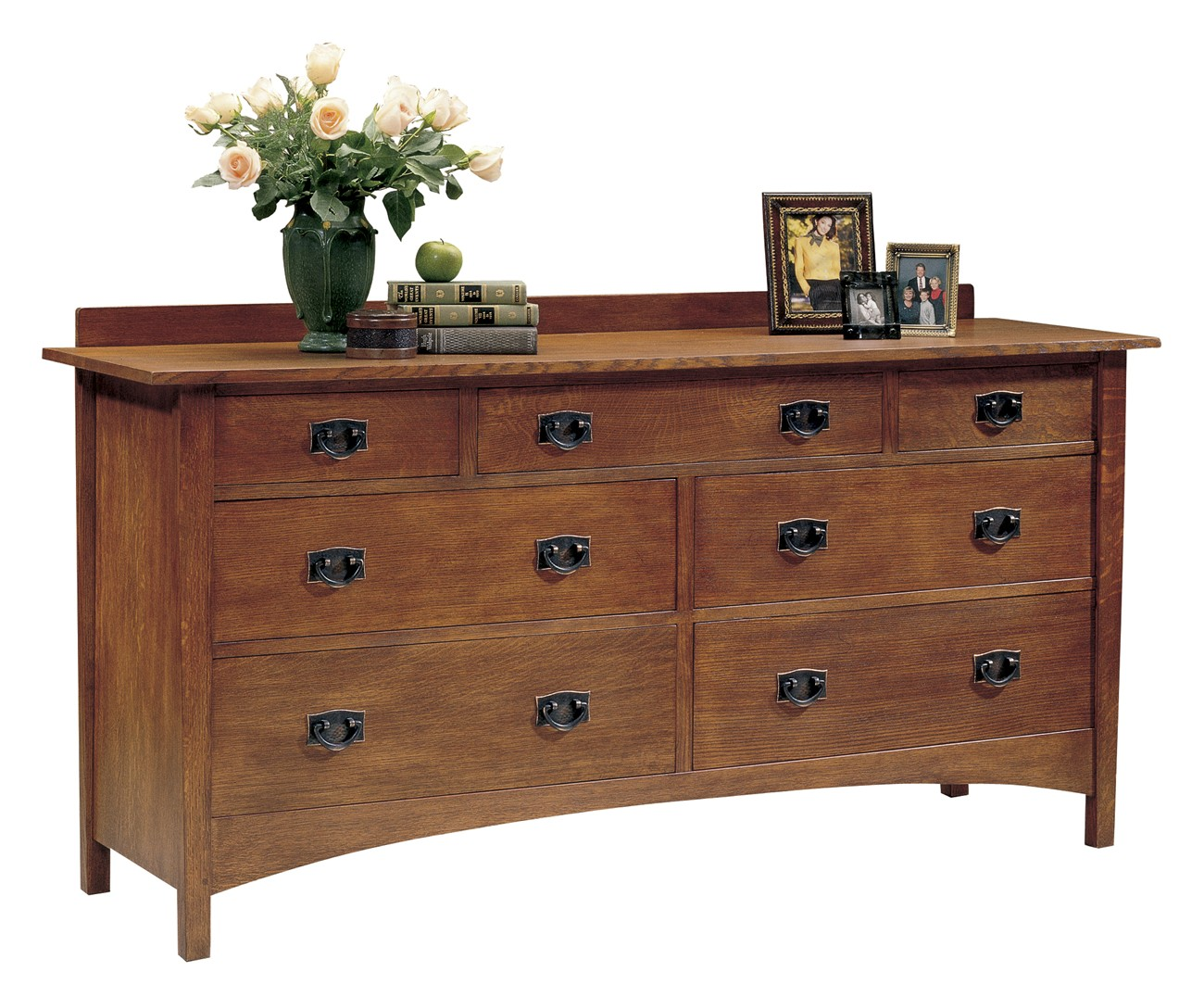 Harvey Ellis Seven Drawer Dresser