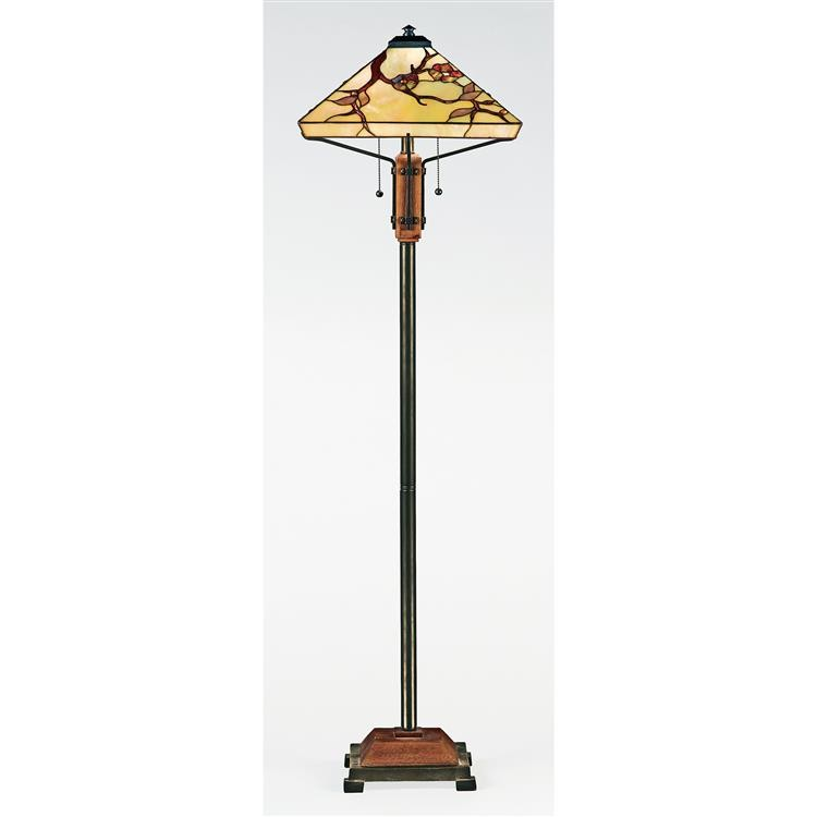 Tiffany Grove Park Floor Lamp