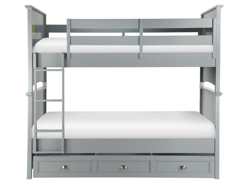 Graylyn Complete Bunk Bed - Twin over Twin