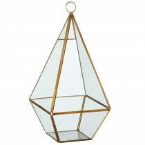 Tall Diamond Shaped Terrarium