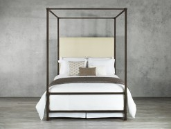 Quincy Queen Bed W/Canopy