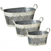 Oval Planter set/3.