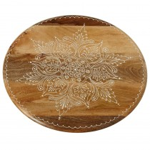 Small Floral Lazy Susan