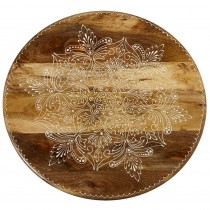 Large Floral Lazy Susan