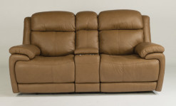 Elijah Power Reclining Loveseat w/Power Headrest & Console
