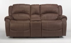 1549-604 Dual Gliding Reclining Love Seat w/Console