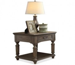 Belmeade Rectangular Side Table*