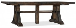 Roslyn County Trestle Dining Table