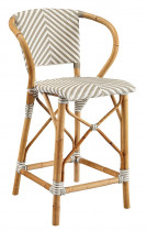 Grey Pearl Counter Stool