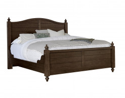 Scotsman Co. American Heirloom Collection Queen Poster Bed w/Antique Rails and Storage Bench Footboard