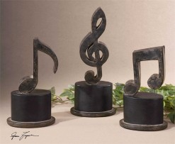 Music Notes, Set of 3