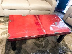 1987 Ford Bronco Truck Hood Cocktail Table