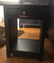 Regal 1 Drawer Open Nightstand*