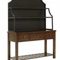Artisan & Post Simply Dining Server w/Metal Hutch