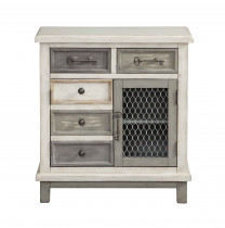 2 Drawer 2 Door Cabinet