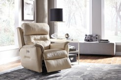 Linden Wallhugger Power Recliner w/Power Headrest.