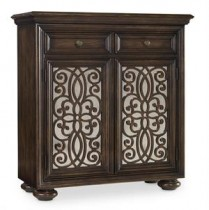 Two Door Fretwork Chest