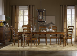 Tynecastle Dining Table/4 Side Chairs/2 Arm Chairs
