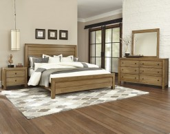 Kismet Queen Planked Panel Bed