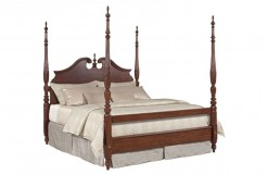 Hadleigh Rice Carved Bed