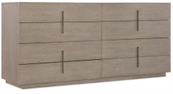 Auguste Eight Drawer Dresser
