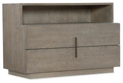 Laguna Two Drawer Nightstand