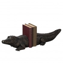 Alligator Bookend Pair.