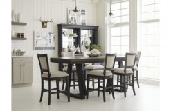 Plank Road Kimler Counter Height Table & 6 Chairs