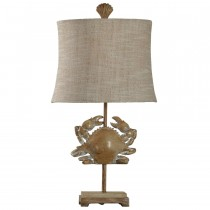 Lakeport Standard 3-Way Switch Table Lamp with Fabric Shade