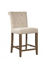 Linen Counter Stool