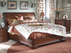 Antebellum King Sleigh Bed